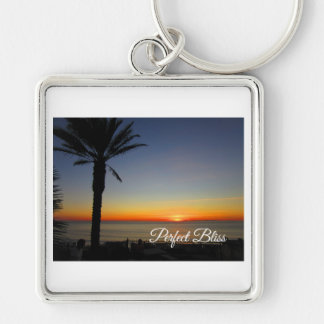Perfect Bliss – Sunset in Dana Point, California Key Ring