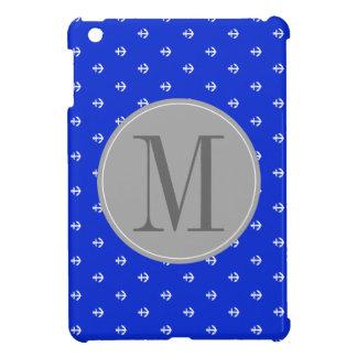 Perfect Blue anchor iPad Mini Cover