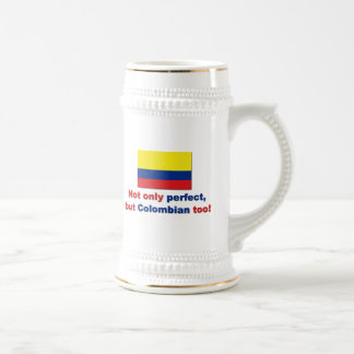 Perfect Colombian Beer Steins