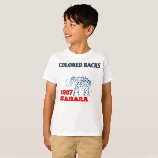 Perfect da África animal colored T-Shirt
