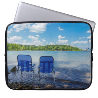 Perfect Day At The Lake Laptop Sleeve