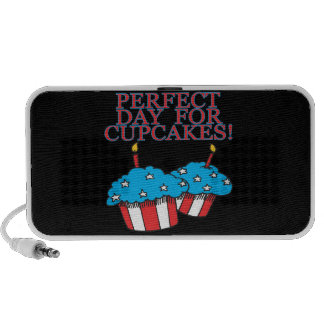 Perfect Day For Cupcakes iPod Speaker