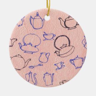 perfect days ceramic ornament