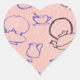 Perfect days heart sticker