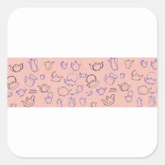 perfect days square sticker