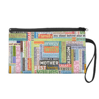 Perfect for a Special Mom for Mother's Day! Wristlet