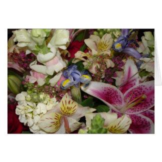 Perfect Fresh Flowers Card