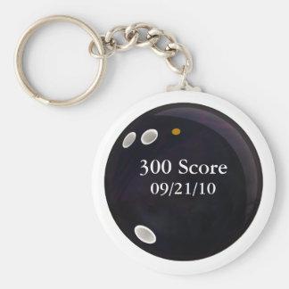 Perfect Game Score Key Ring