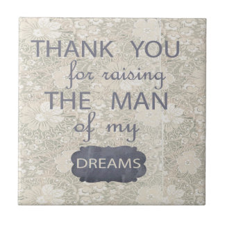 Perfect Gift for Mother in Law Small Square Tile
