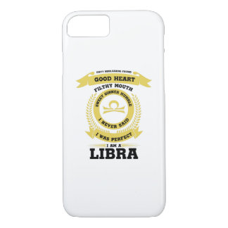 Perfect I Am A Libra Zodiac Sign Birthday Gif iPhone 8/7 Case