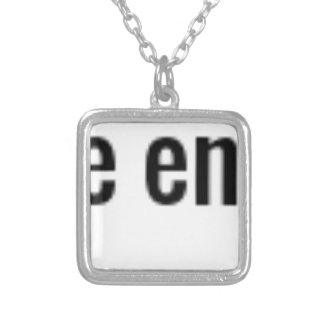 """""""Perfect is the Enemy of Done."""" ~James Hawkins Silver Plated Necklace"""