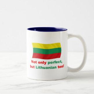 Perfect Lithuanian Two-Tone Mug