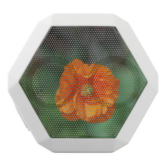 Perfect Orange California Poppy White Boombot Rex Bluetooth Speaker