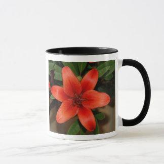 Perfect Orange Lily Flower Mug