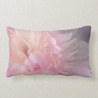 Perfect Pale Pink Peony Pillow