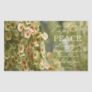 Perfect Peace Sticker