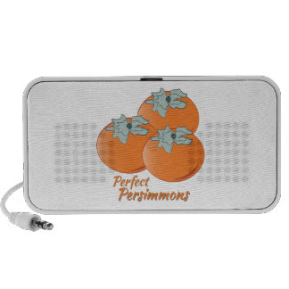 Perfect Persimmons Laptop Speakers