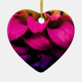 Perfect Petals Ceramic Heart Decoration