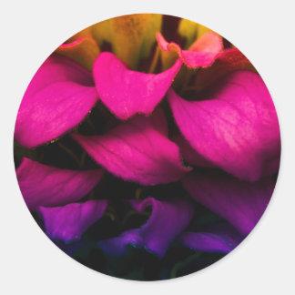 Perfect Petals Classic Round Sticker