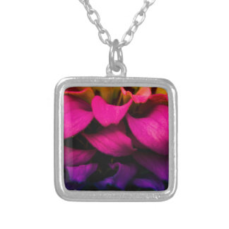 Perfect Petals Silver Plated Necklace