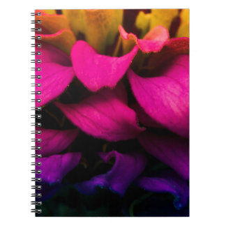 Perfect Petals Spiral Note Books
