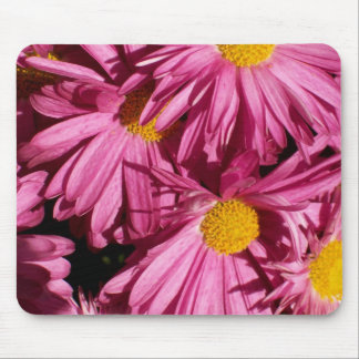 Perfect Pink Flowers Mouse Pad