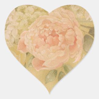 Perfect Pink Rose Photo Envelope Seal Heart Sticker