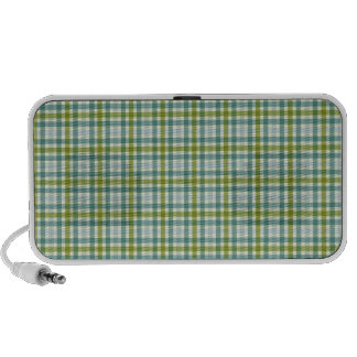 Perfect Plaid Notebook Speakers