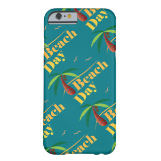 Perfect Summer Beach Day Barely There iPhone 6 Case