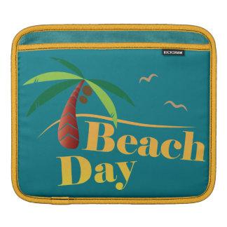Perfect Summer Beach Day iPad Sleeve