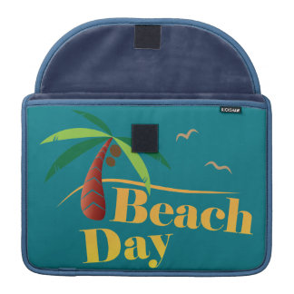 Perfect Summer Beach Day Sleeve For MacBooks