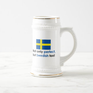 Perfect Swede Beer Steins