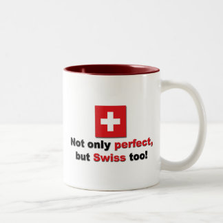 Perfect Swiss Two-Tone Coffee Mug