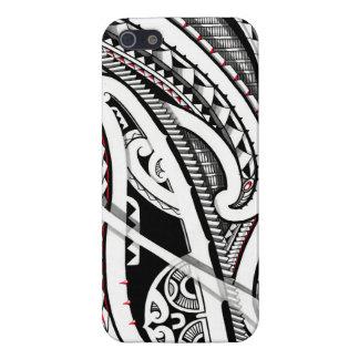 Perfect tribal polynesian/maori tattoo art iPhone 5/5S case