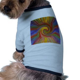 Perfect TWIRL Rainbow Graphic Love GIFTS unique 07 Dog Shirt