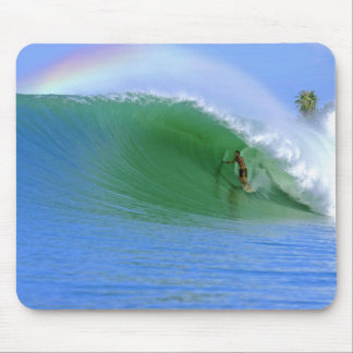 Perfect Wave in Sumatra Mouse Pad