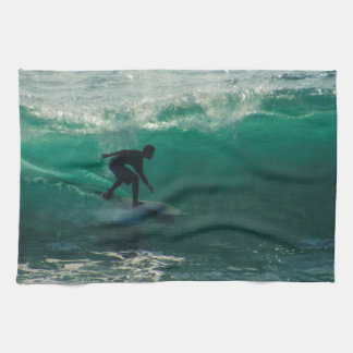 perfect wave tea towel