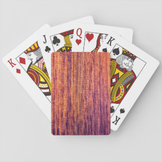 Perfect Wood Playing Cards
