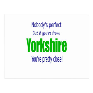 Perfect Yorkshire Postcard
