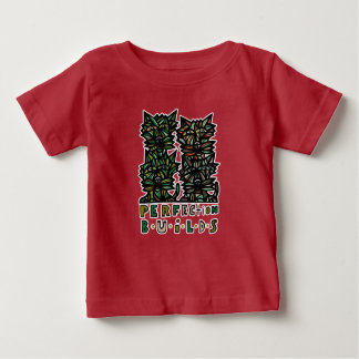"""Perfection Builds"" BuddaKats Baby T-Shirt"