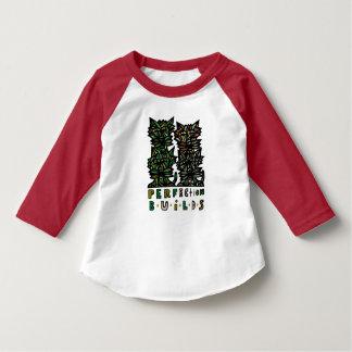 """Perfection Builds"" Toddler Raglan T-Shirt"
