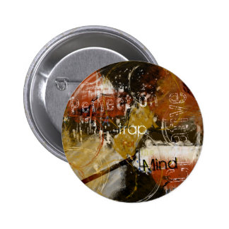 Perfection is a Trap for the Creative Mind 6 Cm Round Badge