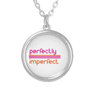 Perfectly Imperfect Silver Plated Necklace