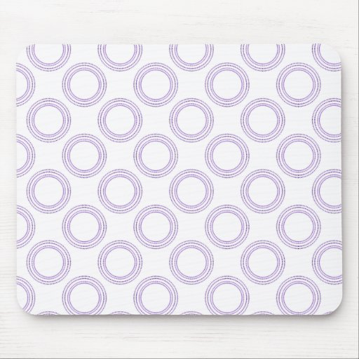 Perfectly Luxurious Light Mousepad, Purple