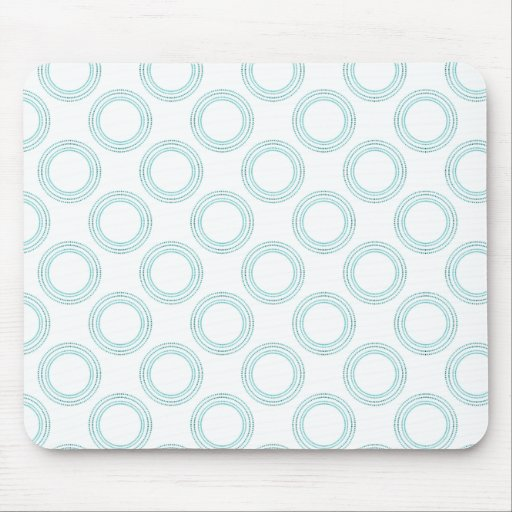 Perfectly Luxurious Light Mousepad, Teal