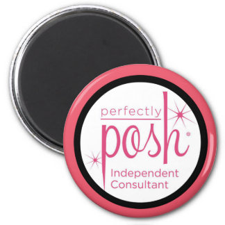 Perfectly Posh Independent Consultant gifts 6 Cm Round Magnet