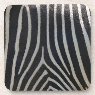 Perfectly Zebra Print Coaster