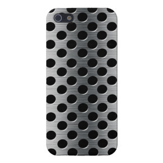 Perforated Metal Grate iPhone 5/5S Cases