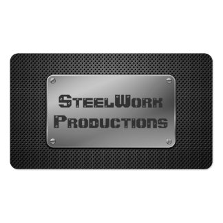 Perforated Metal Plate Pack Of Standard Business Cards