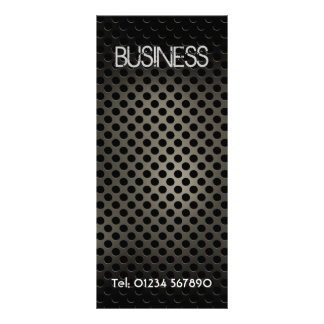 Perforated Metal Rack Card